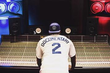 """The Game Says He Recorded About 700 Songs For """"The Documentary 2"""""""