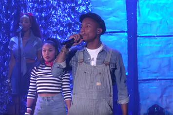 "Pharrell Performs ""Freedom"" On Ellen"