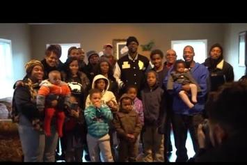 Watch 2 Chainz Gift a 5 Bedroom House To A Family In Need