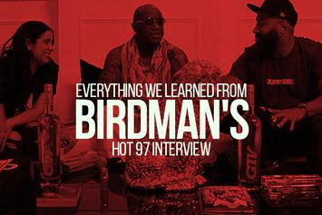 Everything We Learned From Birdman's HOT 97 Interview