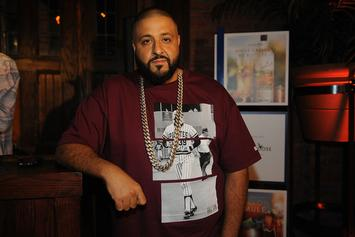 "DJ Khaled Says The Drake Vocals Are In, Shoots ""Major Key"" Cover With Lion"