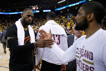 LeBron James, Kyrie Irving Set NBA Record In Game 5 Win