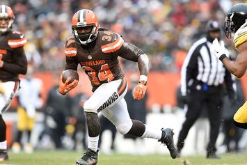 Cleveland Browns' Isaiah Crowell Apologizes For Posting Graphic Image Of A Cop Getting His Throat Slit