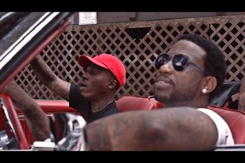 """Lotto Savage Feat. Gucci Mane """"Trapped It Out (Remix)"""" Video"""