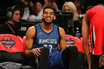 NBA GMs Say Karl-Anthony Towns Is The Player They'd Most Want To Start A Team With