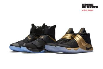 """Nike Releasing """"Game 7"""" Kyrie x LeBron Championship Pack Today"""