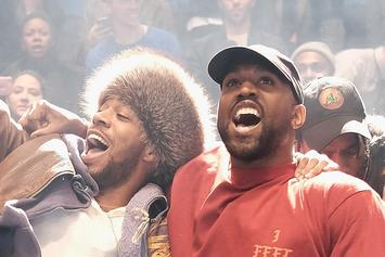 Kanye West Asks Fans To Sing For Kid Cudi In Los Angeles
