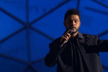 """The Weeknd Performs """"Starboy"""" Live At 2016 MTV EMA's"""