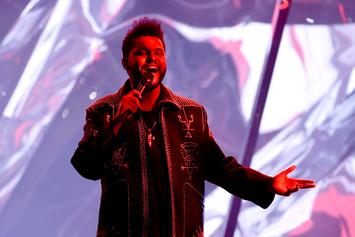 """All 18 Of The Weeknd's """"STARBOY"""" Songs Charting On Hot 100"""