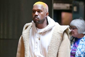 Kanye West Debuts New Multi-Colored Hairstyle