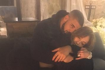 Drake & Jennifer Lopez Get Extra Cuddly On IG