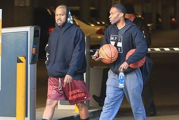 Kanye West Reportedly Been Hitting The Gym 5-6 Times A Week To Help With His Recovery