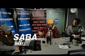 Saba Talks With Sway About His New Project And Drops A Freestyle