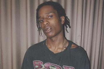 """A$AP Rocky Previews New Track """"Please Don't Touch My Raf"""""""