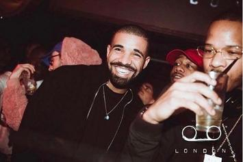 Drake's Strip Club Pop Up Show Attracts Celebrities On Super Bowl Weekend