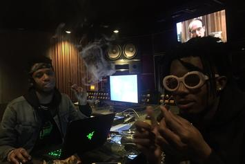 Playboi Carti Hits The Studio With Metro Boomin; Hints At Debut Mixtape Dropping Soon