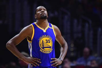 Warriors Fear Kevin Durant Could Miss Rest Of Regular Season