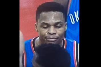 "Russell Westbrook Really Hit Patrick Beverly With A ""Yo Mom"""