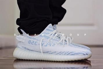 """Bue Zebra"" Adidas Yeezy Boost 350 V2 Reportedly Releasing This Year"