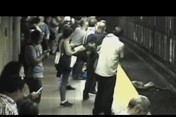 Witnesses Rescue Girl After She Faints & Falls Onto Train Tracks With Train Only One Minute Away