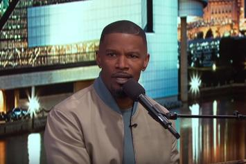 Watch Jamie Foxx's Hilarious LeBron James Impression