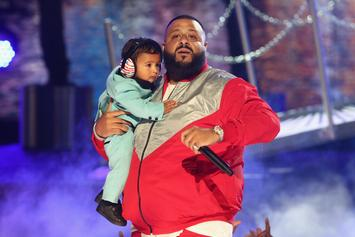 "DJ Khaled Brings Out  Chance The Rapper, Lil Wayne, Quavo, and Asahd for ""I'm The One"" at BET Awards"