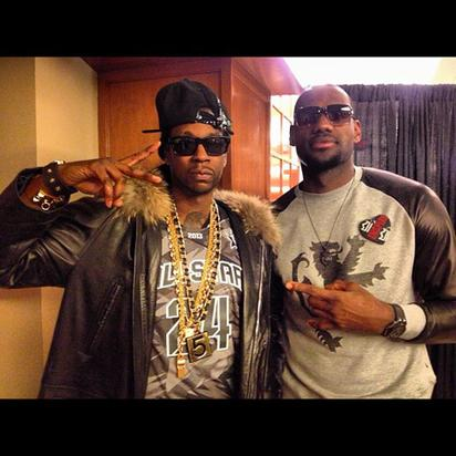 2 Chainz & Lebron James