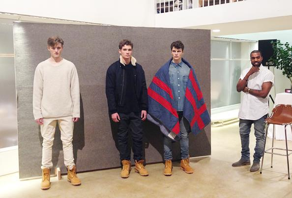 Kanye West x A.P.C. Collection | Paris Fashion Week '14