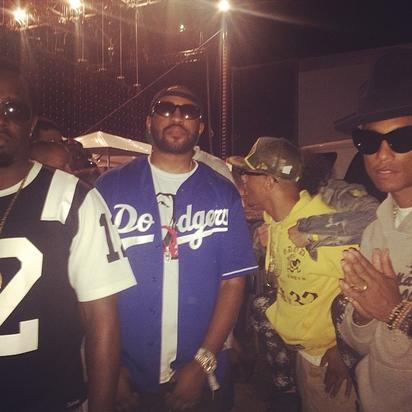 Mike WiLL, Diddy, T.I., Pharrell