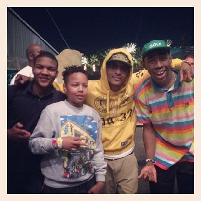 T.I. with Tyler, the Creator