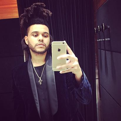 The Weeknd Selfie