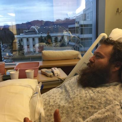 Action Bronson Hospital Bed