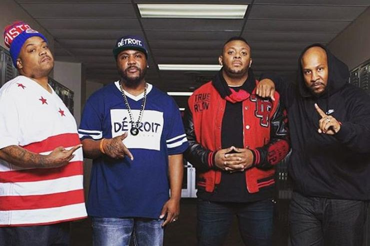 D12 posing together