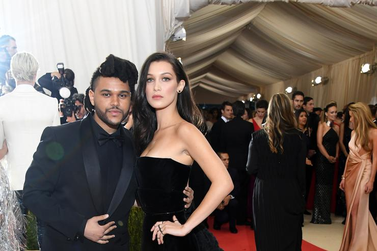 Bella Hadid and The Weeknd Met Gala 2016