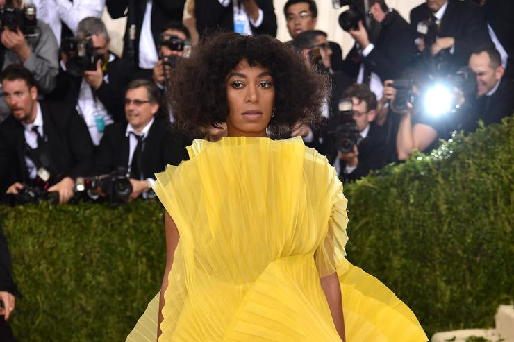 Solange Knowles at Met Gala 2016