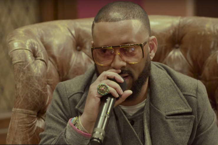 Madlib at the Red Bull Music Academy in New York, 2016.