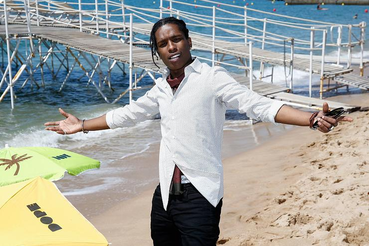 "A$AP Rocky attends a photocall for ""Dope"" during the 68th annual Cannes Film Festival on May 22, 2015 in Cannes, France."