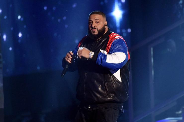 DJ Khaled onstage during the 2016 American Music Awards at Microsoft Theater on November 20, 2016 in Los Angeles, California.