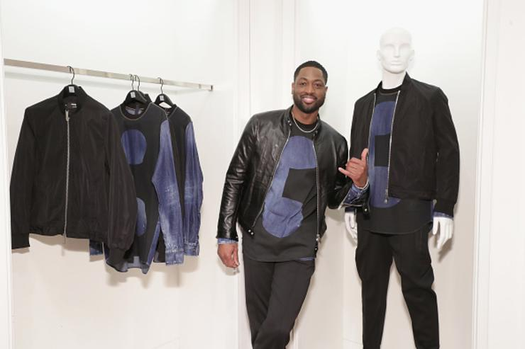 Wade attends launch of Dsquared2 x Dwyane Wade Capsule Collection