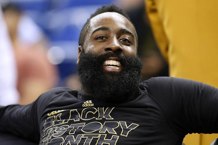 James Harden's Jersey Supposedly Retired At Popular Houston Strip Club