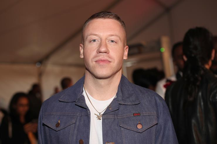 Macklemore's vehicle  hit by suspected drunken driver