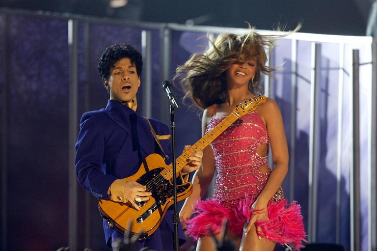 Beyoncé wrote the foreword to Prince: A Private View