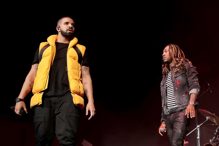 Drake, Future sued by a woman raped at concert
